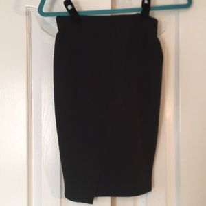Perfect fitted black skirt